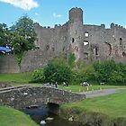 Laugharne Castle by RedHillDigital
