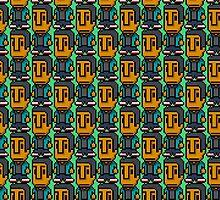 8-Bit Abed Nadir by CraftyG