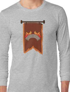 BANNER CREST SIGIL burning bridge BRIDGEBURNERS Long Sleeve T-Shirt