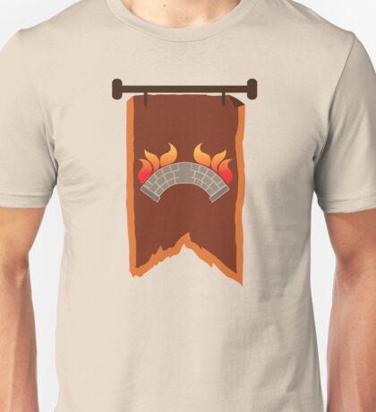 BANNER CREST SIGIL burning bridge BRIDGEBURNERS Unisex T-Shirt