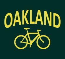 I Bike Oakland, California by robotface