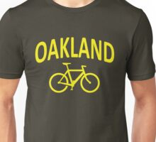 I Bike Oakland, California Unisex T-Shirt