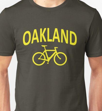 I Bike Oakland, California Unisex T-Shirt
