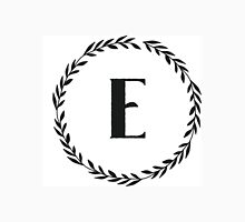 Monogram Wreath - E Unisex T-Shirt