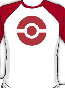 Pokeball Icon Red T-Shirt