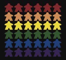 Gay Pride (Meeple Edition) by BasiliskOnline