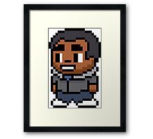 8-Bit Troy Barnes Framed Print