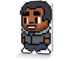 8-Bit Troy Barnes Greeting Card