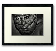 caught Framed Print