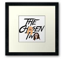 The Chosen Two Framed Print