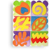 COLOURFULL 3 - GOUACHE Canvas Print