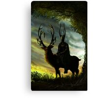 Stag Lord Canvas Print