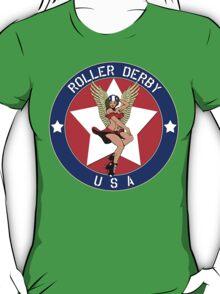 ROLLER DERBY U.S.A. T-Shirt