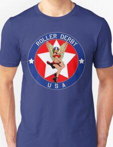 ROLLER DERBY U.S.A. Unisex T-Shirt