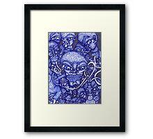 Blue Hookah Framed Print