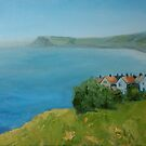 By the sea - North Yorkshire by Carole Russell