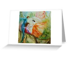 Ruby Fairyland Greeting Card