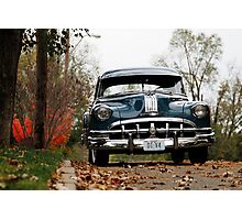 October Silver Streak Photographic Print