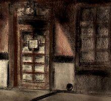 Restaurant Side Door by Nigel Messenger