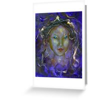 Angel Of The Violet Ray Greeting Card