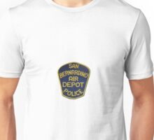 San Bernardino Air Depot Police Unisex T-Shirt