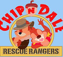 Chip N Dale: Rescue Rangers! by smilobar