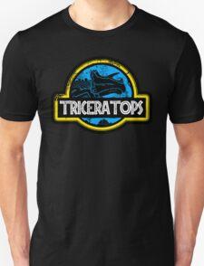 Jurassic Power Blue Unisex T-Shirt