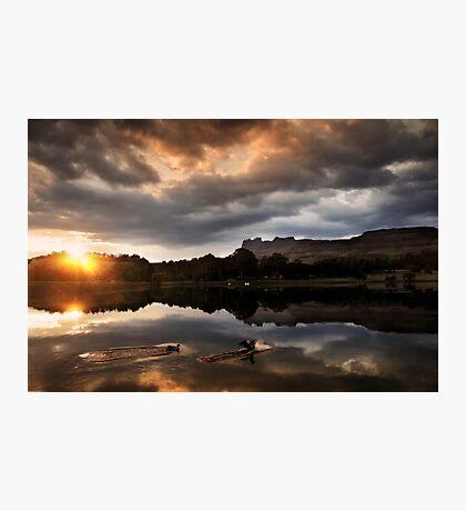Dawn landing Photographic Print
