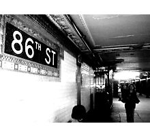 86th ST Photographic Print