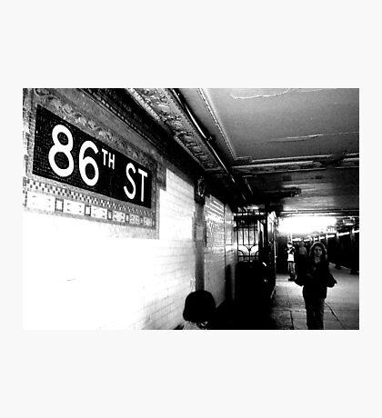 86th ST Photographic Print