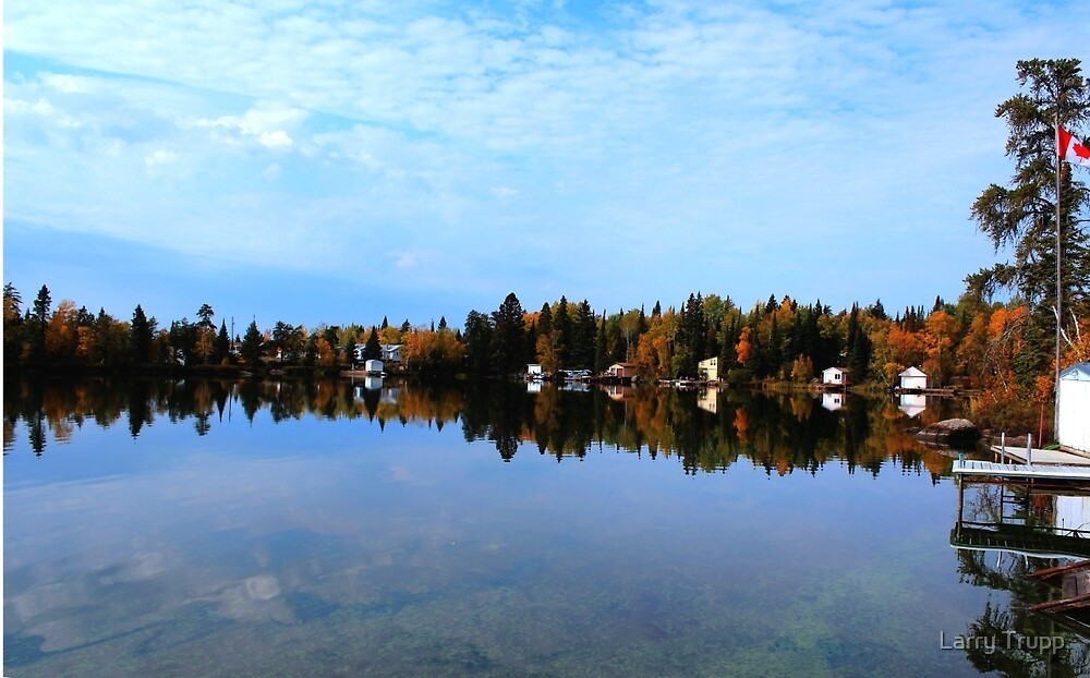 Lake Reflections by Larry Trupp