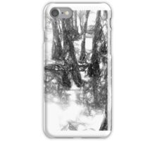 Sketchy Forest iPhone Case/Skin