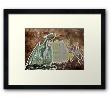 George and the Dragon Framed Print