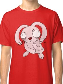scared rabbit Classic T-Shirt