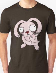 scared rabbit Unisex T-Shirt
