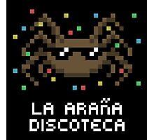 La Araña Discoteca - The Disco Spider Photographic Print
