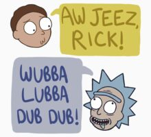 Rick and Morty Quotes by Luminovia