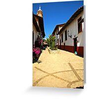 Guanajuato Plaza Greeting Card