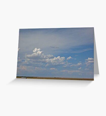 Small Shed - Nebraska Landscape Greeting Card