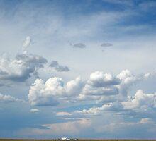 Nebraska Sky by Nina Brandin