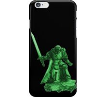 Angel of Darkness - trooper only, Green iPhone Case/Skin