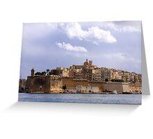 Views of Malta I Greeting Card