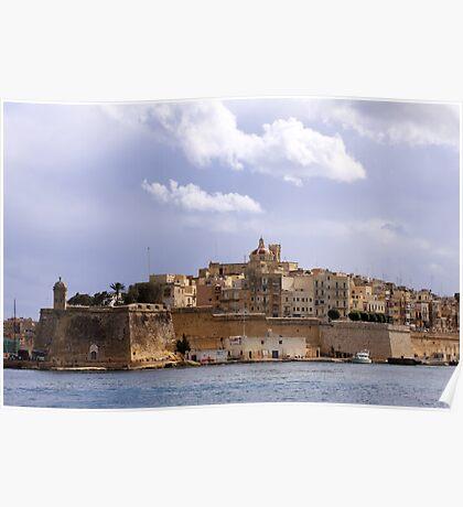 Views of Malta I Poster