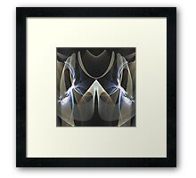 The mirrored abstract Framed Print