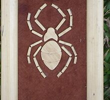 arial view,brown spider by ojok ivan willy