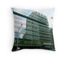 Advertiser building, Adelaide  Throw Pillow