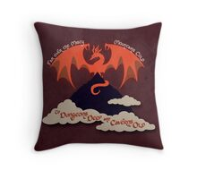 The Hobbit Illustration Throw Pillow