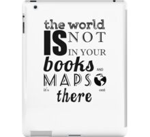 TOLKIEN / MAPS AND BOOKS TYPO iPad Case/Skin