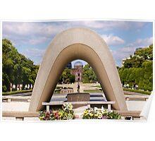 Hiroshima Peace Park Poster