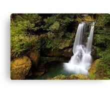 """""""Green Falls"""" Canvas Print"""